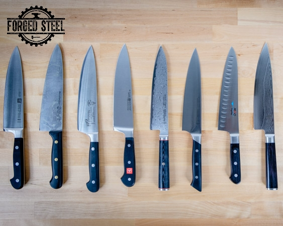 Selection of Chef Knives